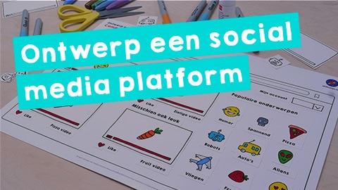 Ontwerp een social media platform