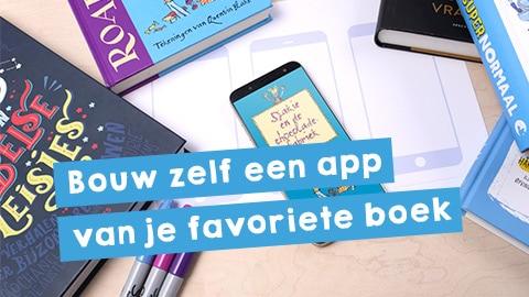Bouw een app van je favoriete boek